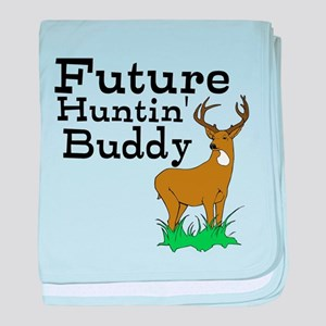 future huntin' buddy baby blanket